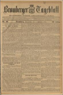 Bromberger Tageblatt. J. 36, 1912, nr 26