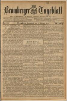 Bromberger Tageblatt. J. 36, 1912, nr 28