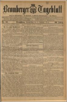 Bromberger Tageblatt. J. 36, 1912, nr 32