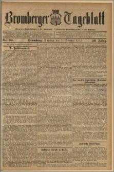 Bromberger Tageblatt. J. 36, 1912, nr 36