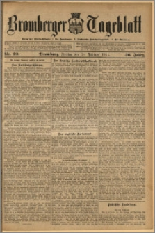Bromberger Tageblatt. J. 36, 1912, nr 39