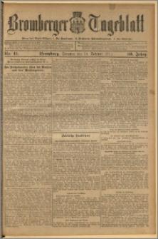 Bromberger Tageblatt. J. 36, 1912, nr 41