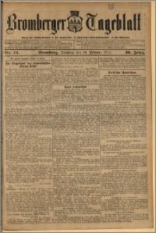 Bromberger Tageblatt. J. 36, 1912, nr 42