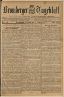 Bromberger Tageblatt. J. 36, 1912, nr 43