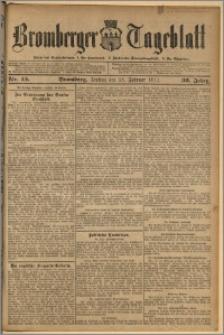 Bromberger Tageblatt. J. 36, 1912, nr 45