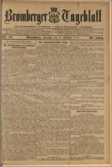 Bromberger Tageblatt. J. 36, 1912, nr 48