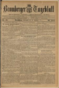 Bromberger Tageblatt. J. 36, 1912, nr 49