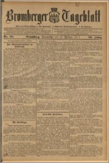 Bromberger Tageblatt. J. 36, 1912, nr 50