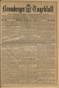 Bromberger Tageblatt. J. 36, 1912, nr 53