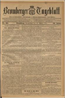 Bromberger Tageblatt. J. 36, 1912, nr 68