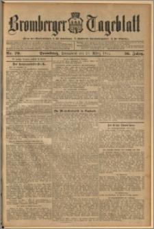 Bromberger Tageblatt. J. 36, 1912, nr 70