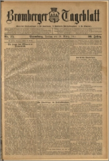 Bromberger Tageblatt. J. 36, 1912, nr 75