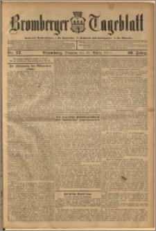 Bromberger Tageblatt. J. 36, 1912, nr 77