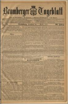 Bromberger Tageblatt. J. 36, 1912, nr 82