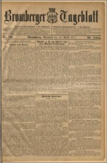 Bromberger Tageblatt. J. 36, 1912, nr 83