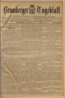 Bromberger Tageblatt. J. 36, 1912, nr 84