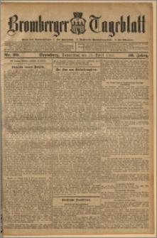Bromberger Tageblatt. J. 36, 1912, nr 90
