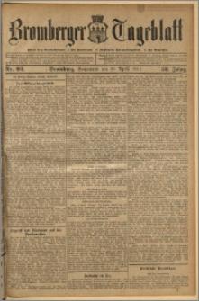 Bromberger Tageblatt. J. 36, 1912, nr 92