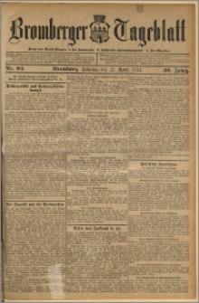 Bromberger Tageblatt. J. 36, 1912, nr 93