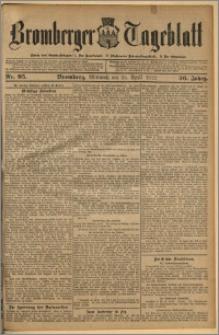 Bromberger Tageblatt. J. 36, 1912, nr 95