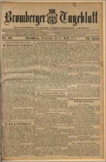 Bromberger Tageblatt. J. 36, 1912, nr 96