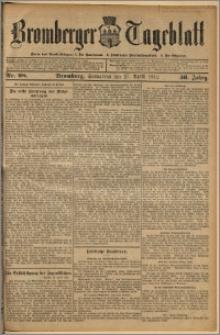 Bromberger Tageblatt. J. 36, 1912, nr 98