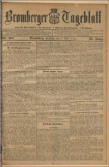 Bromberger Tageblatt. J. 36, 1912, nr 105