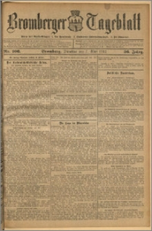 Bromberger Tageblatt. J. 36, 1912, nr 106