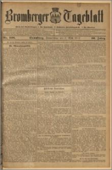 Bromberger Tageblatt. J. 36, 1912, nr 108