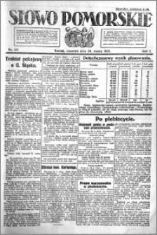 Słowo Pomorskie 1921.03.24 R.1 nr 67