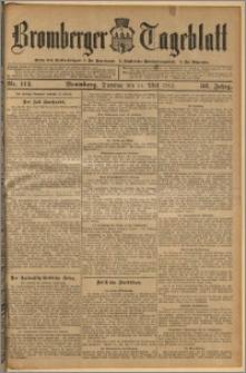 Bromberger Tageblatt. J. 36, 1912, nr 112