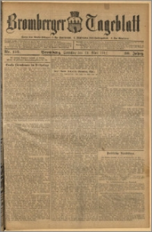 Bromberger Tageblatt. J. 36, 1912, nr 116