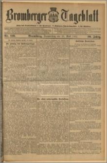Bromberger Tageblatt. J. 36, 1912, nr 119