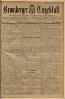 Bromberger Tageblatt. J. 36, 1912, nr 135