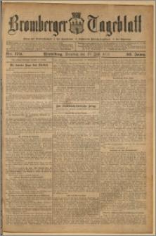 Bromberger Tageblatt. J. 36, 1912, nr 170
