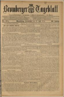 Bromberger Tageblatt. J. 36, 1912, nr 172