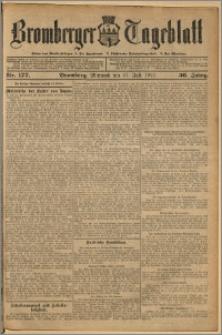 Bromberger Tageblatt. J. 36, 1912, nr 177
