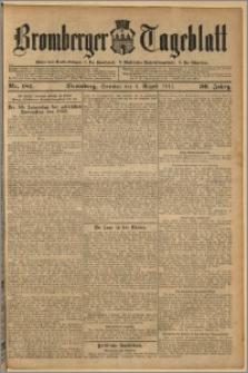 Bromberger Tageblatt. J. 36, 1912, nr 181