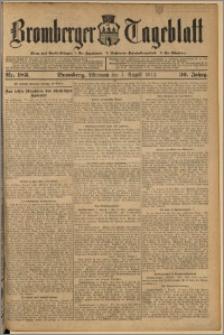 Bromberger Tageblatt. J. 36, 1912, nr 183