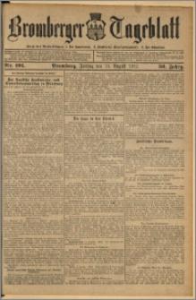 Bromberger Tageblatt. J. 36, 1912, nr 191