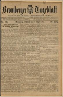 Bromberger Tageblatt. J. 36, 1912, nr 195