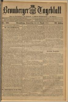 Bromberger Tageblatt. J. 36, 1912, nr 196