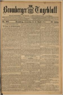 Bromberger Tageblatt. J. 36, 1912, nr 202