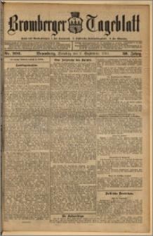Bromberger Tageblatt. J. 36, 1912, nr 206