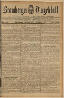 Bromberger Tageblatt. J. 36, 1912, nr 207