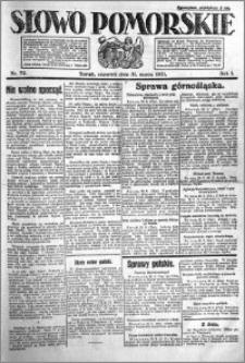 Słowo Pomorskie 1921.03.31 R.1 nr 72