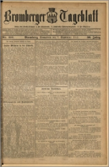 Bromberger Tageblatt. J. 36, 1912, nr 210