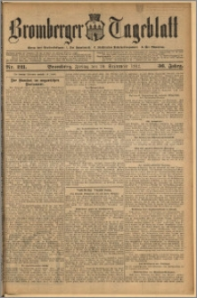 Bromberger Tageblatt. J. 36, 1912, nr 221