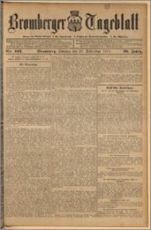 Bromberger Tageblatt. J. 36, 1912, nr 223