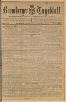 Bromberger Tageblatt. J. 36, 1912, nr 229